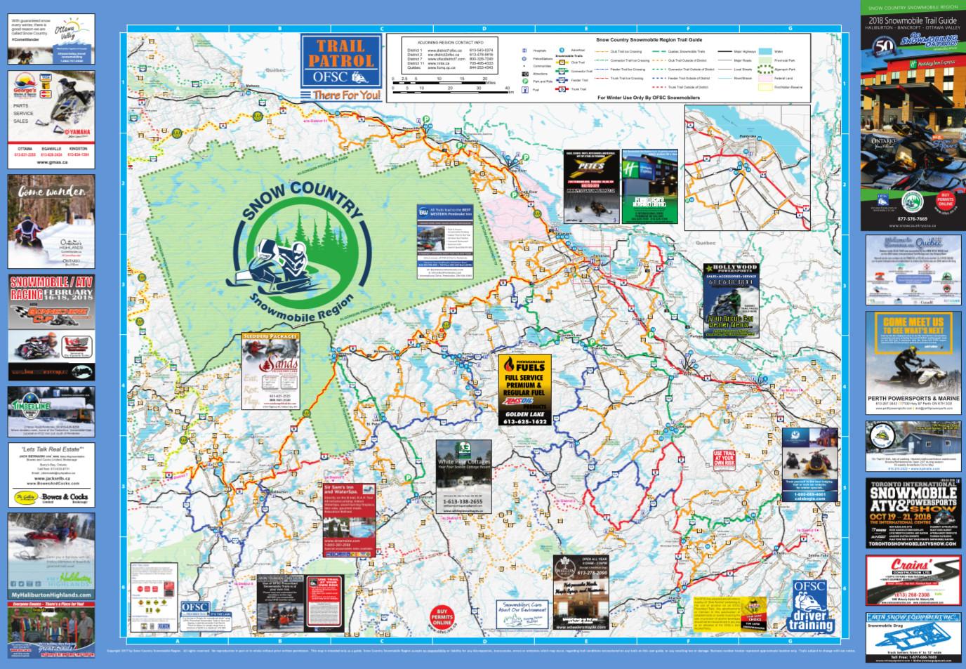SCSR Map
