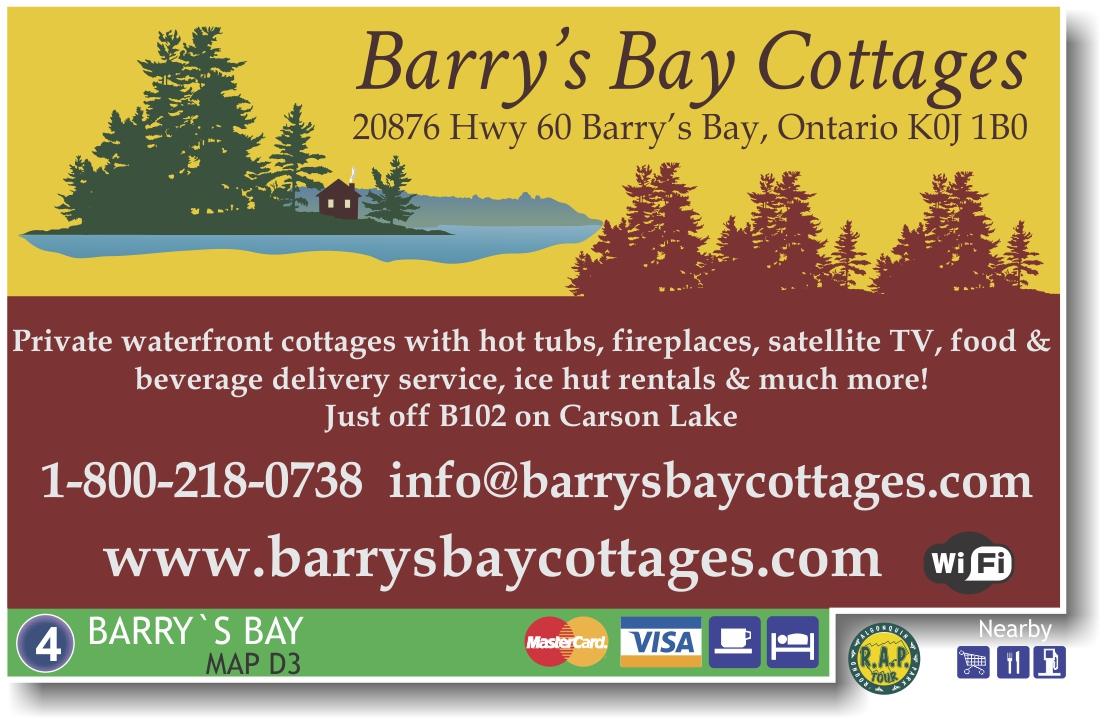 Barrys Bay Cottages