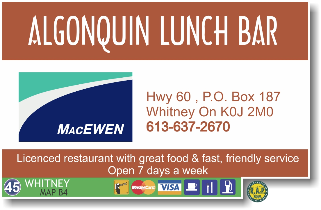 Algonquin Lunch Bar