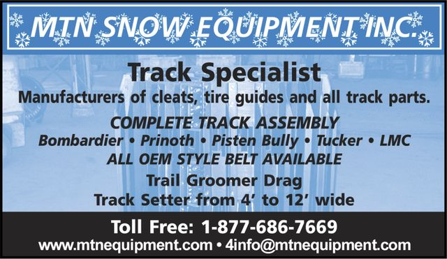 MTN Snow Equipment